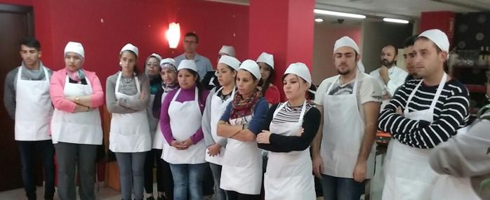 Clausurado el curso de ayudante de cocina organizado por c ritas inicio - Curso de ayudante de cocina ...