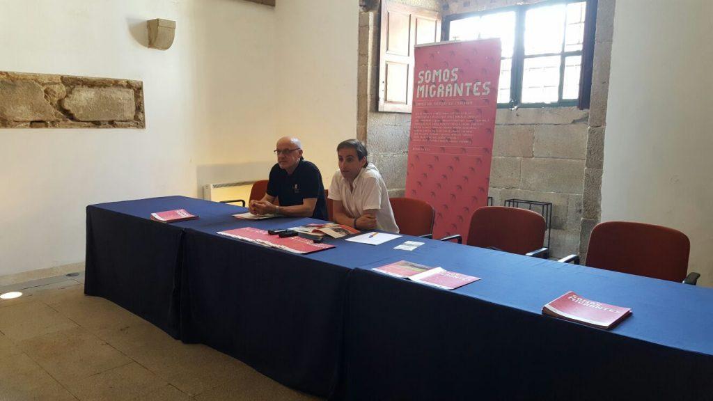 El jesuita Baltasar Delgado, izquierda, y Pablo Rodríguez